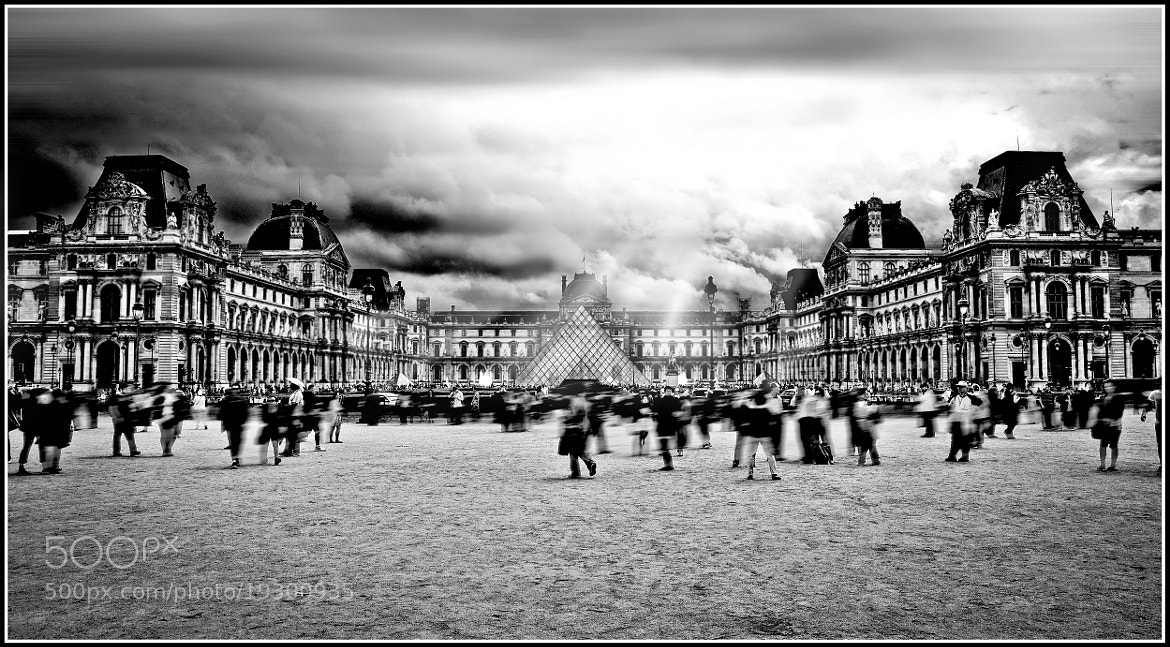 Photograph Sunshine Louvre by Peter Emil Andersen on 500px