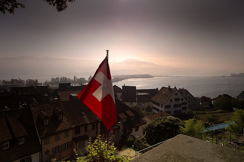 Photograph Lake Zurich by Richard Tierney on 500px