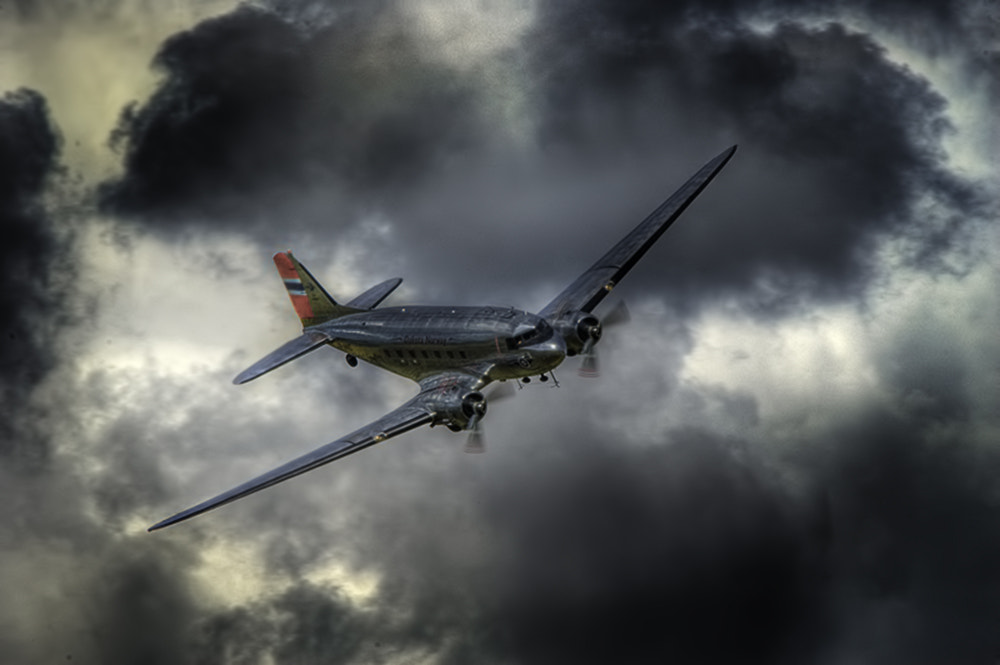 Photograph DC3 by Richard Tierney on 500px