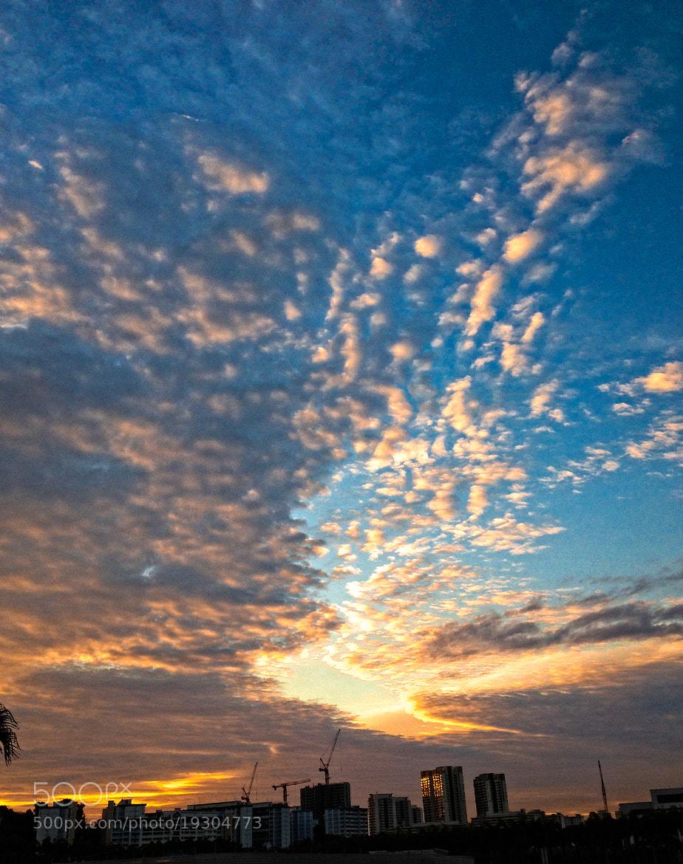 Photograph Beautiful Sky by Myint Mo Oo on 500px