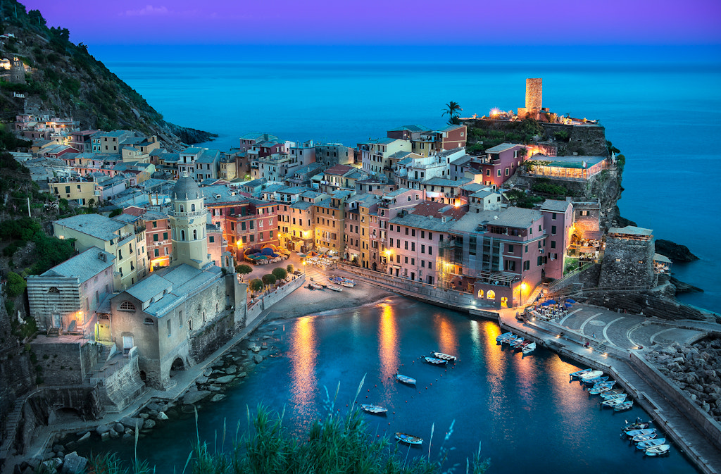 Photograph The Beautiful Vernazza  by Elia Locardi on 500px