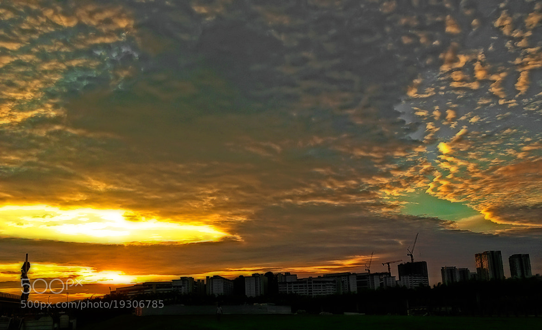 Photograph Shinning Sky by Myint Mo Oo on 500px