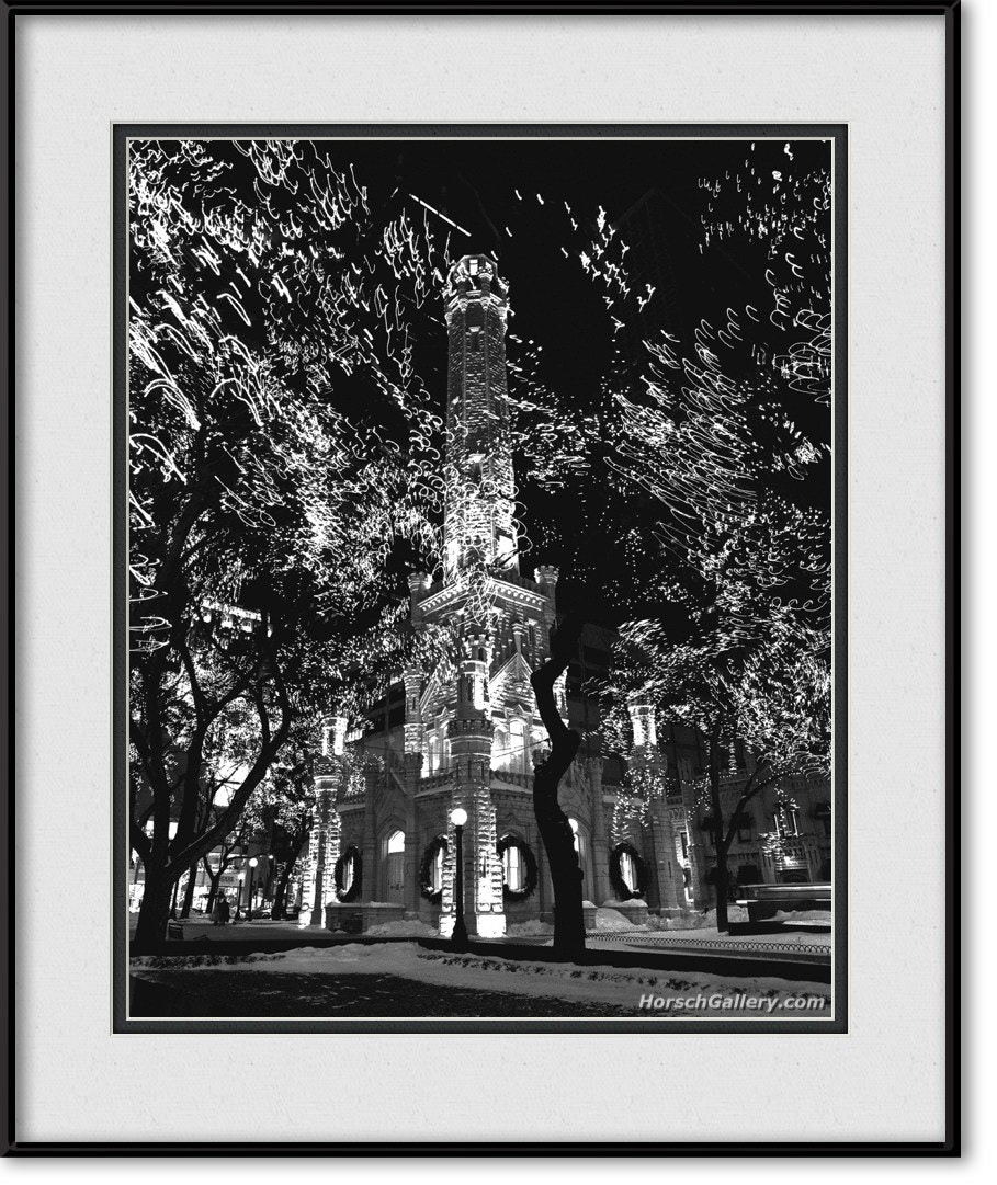 Photograph Chicago Water Tower by Horsch Gallery.com on 500px