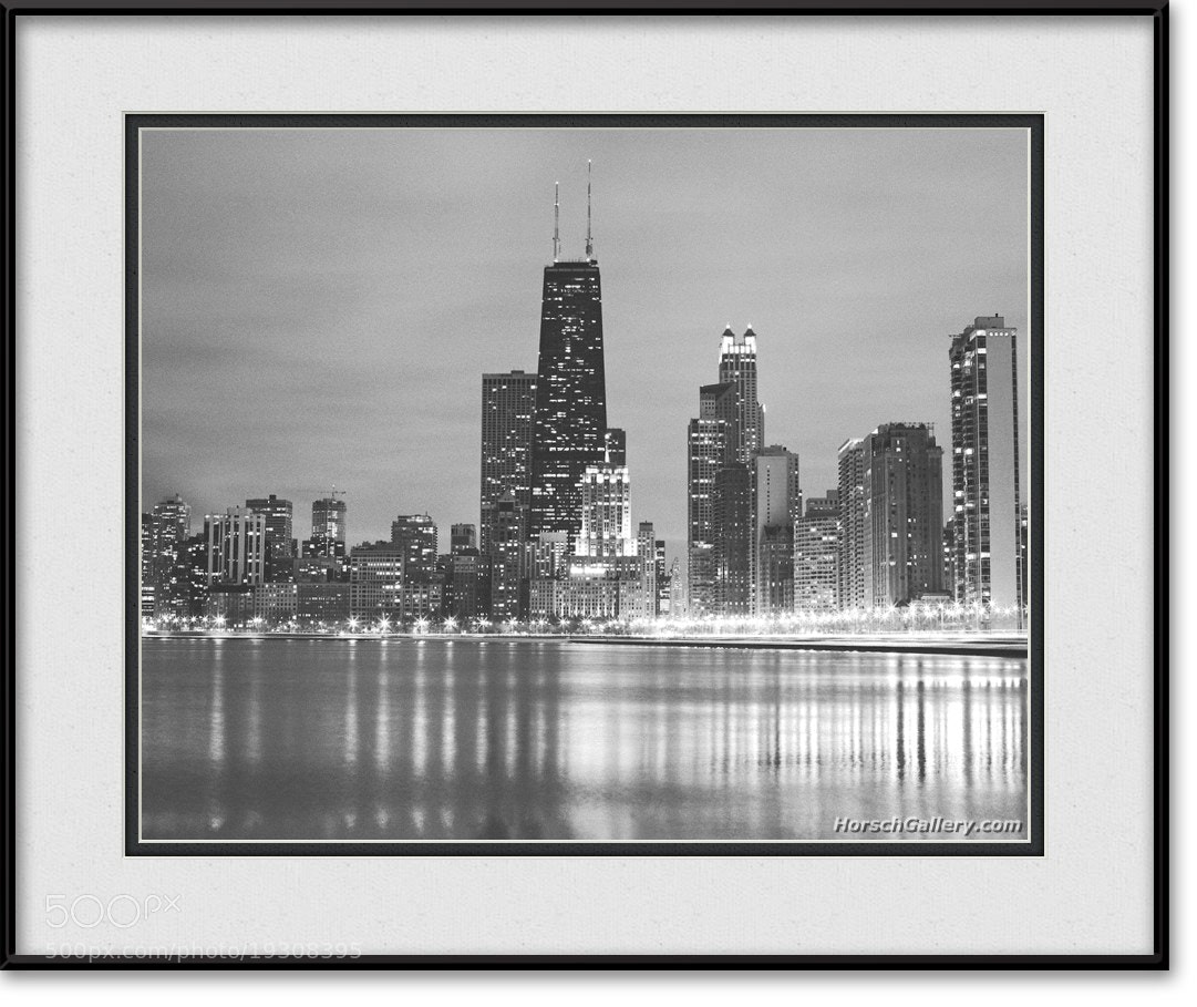 Photograph Chicago Skyline - Black & White Photo by Horsch Gallery.com on 500px