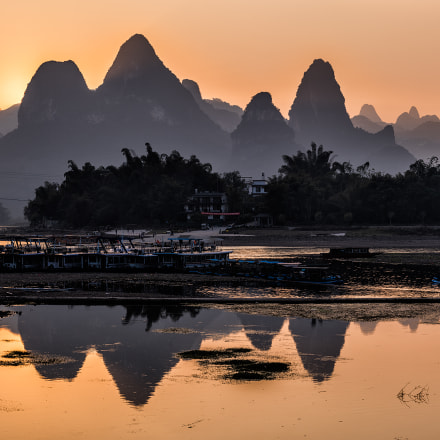 GuiLin Sunset, RICOH PENTAX 645Z, smc PENTAX-FA 645 Macro 120mm F4