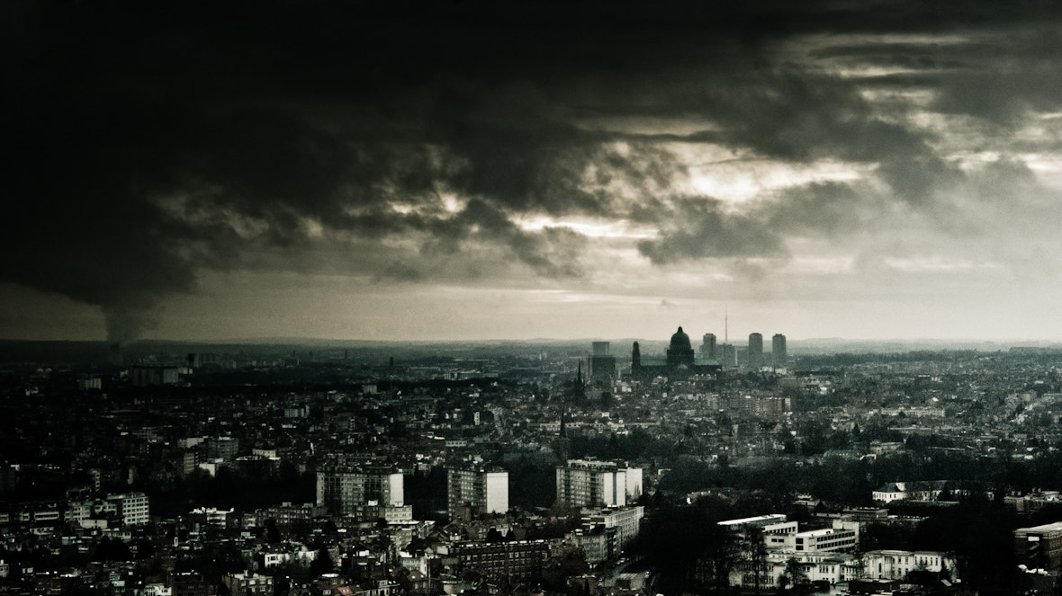 Photograph Brussels at 90m high by Peter Eeckelaert on 500px