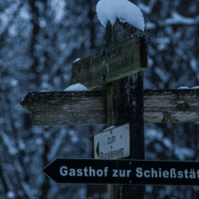 Photograph signPost by Lukas Bachschwell