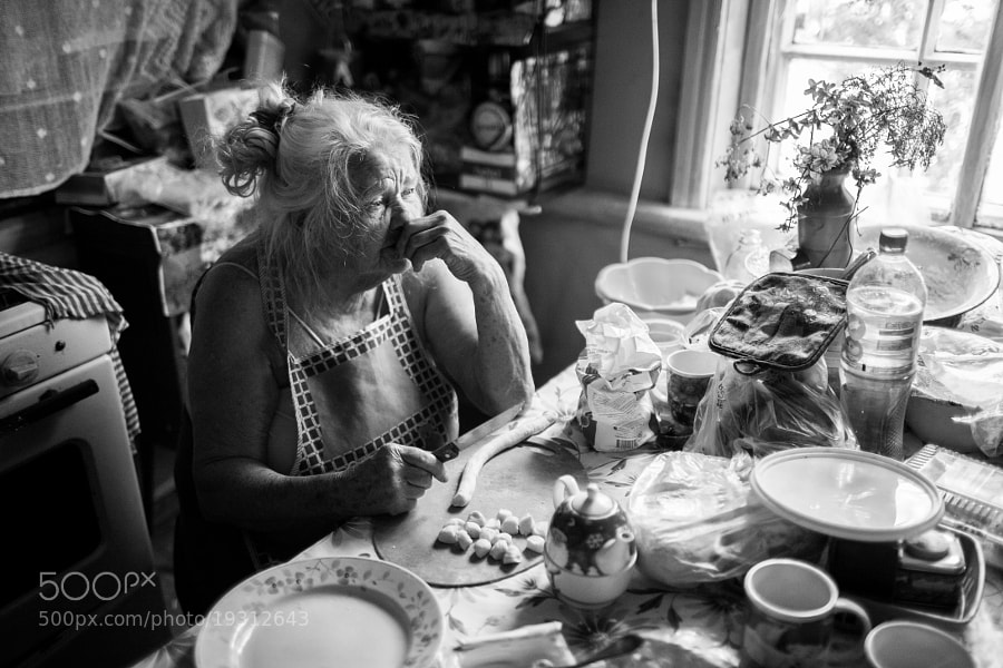 Grandmother. Оld age by Stepan Tretyakov (Tretyak)) on 500px.com