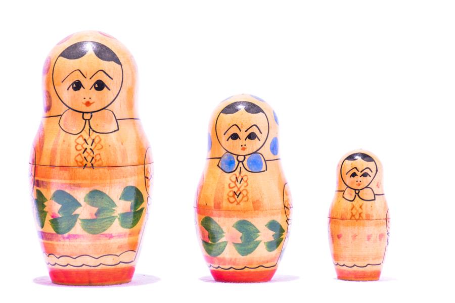 Classic Russian Matrioska Doll by Alberto Giacomazzi on 500px.com