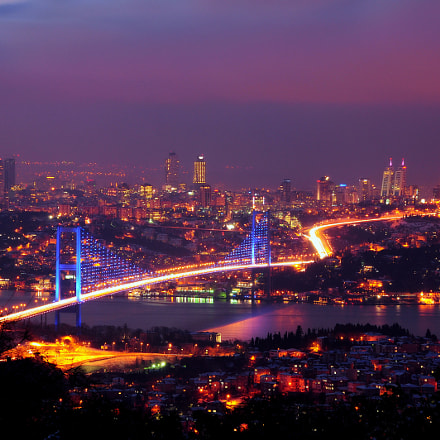 Snow, Night and Istanbul, Nikon D300, AF-S DX VR Zoom-Nikkor 18-200mm f/3.5-5.6G IF-ED [II]