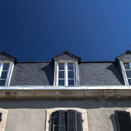 House in Morlaix, Olympus E-M5, Sigma 19mm F2.8 DN | A
