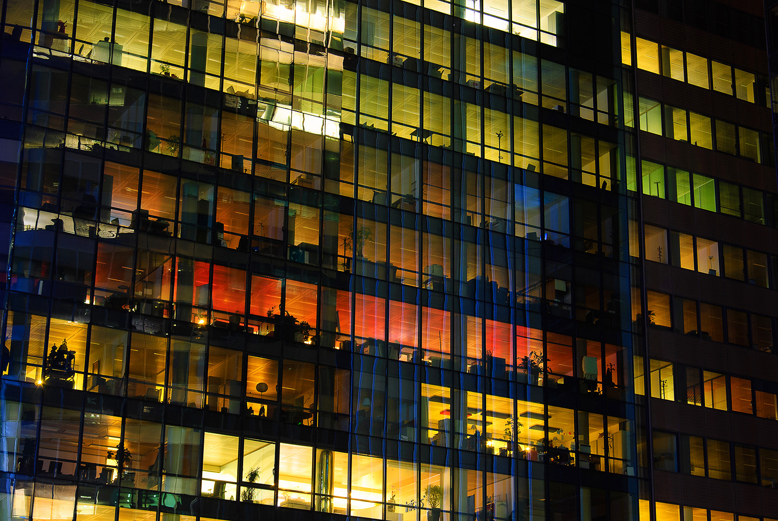 Photograph Offices at La Defense by Kristhian Mason on 500px