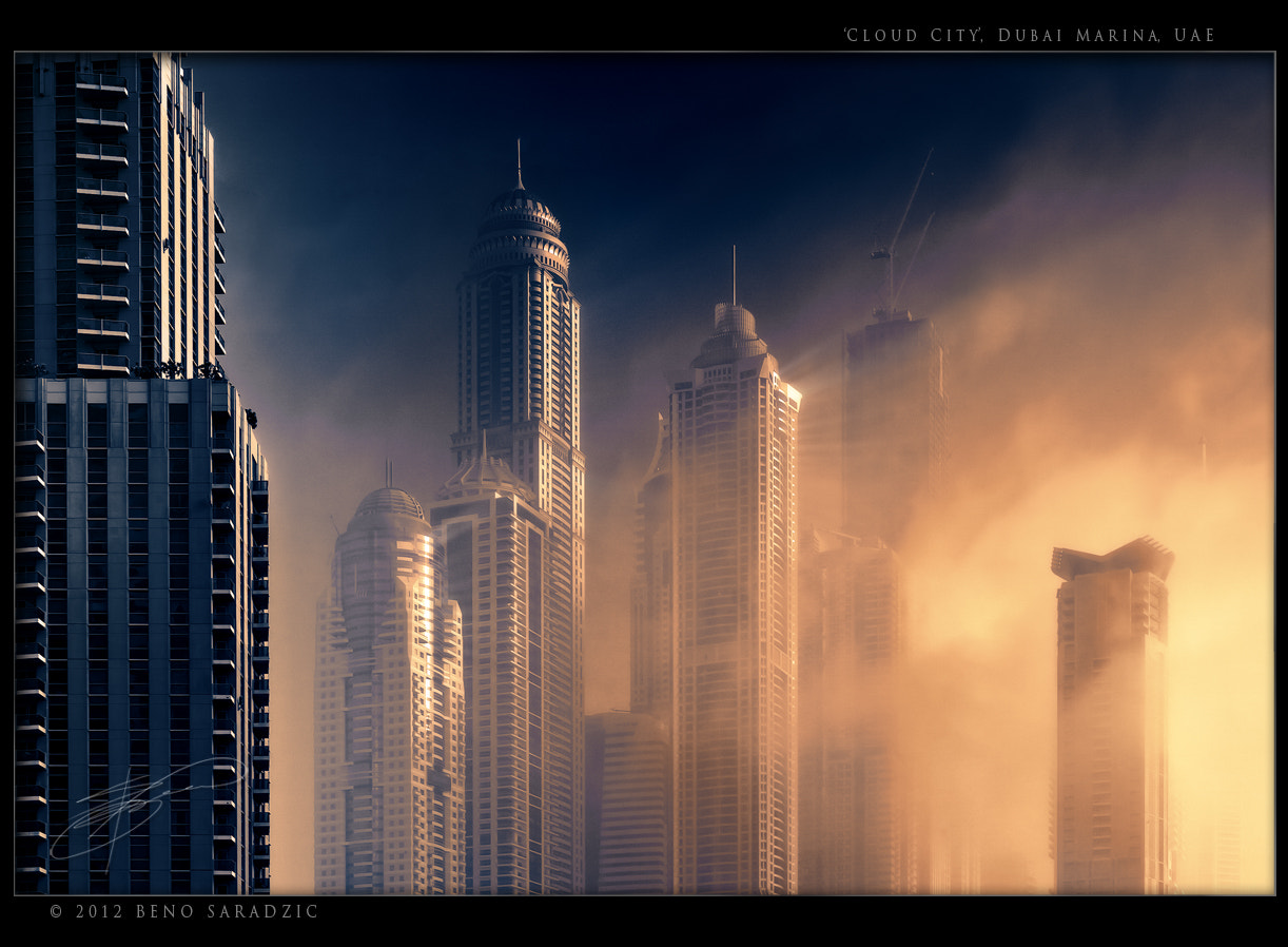 Photograph Cloud City by Beno Saradzic on 500px