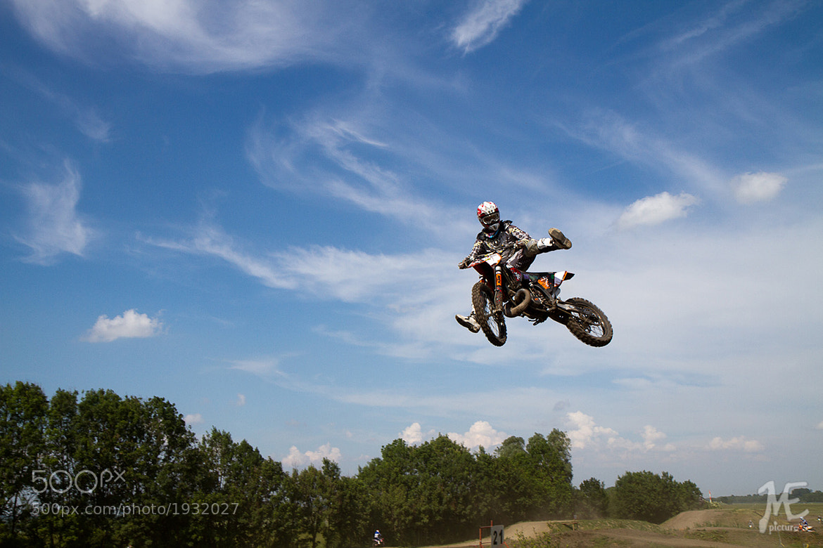 Photograph Mx Track in Freising by Matthias Eberl on 500px
