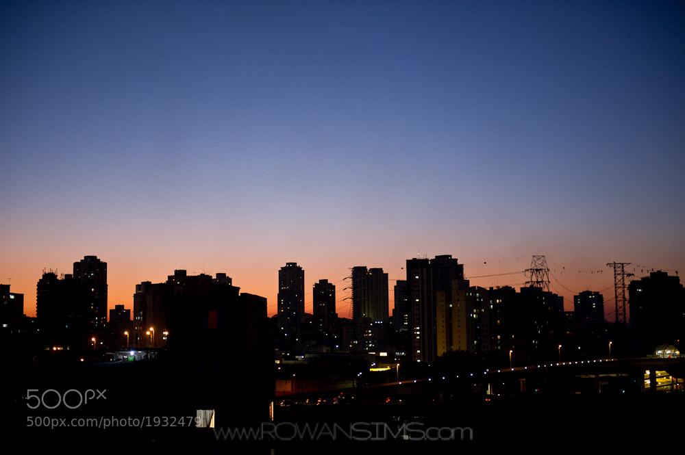 Photograph Sao Paulo Cityscape by Rowan Sims on 500px