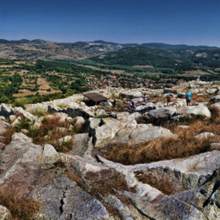 Panorama of Perperikon