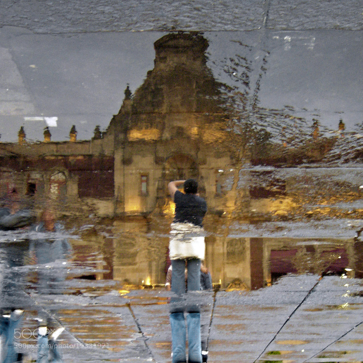 Photograph Palace reflected / Palacio reflejado by Luis Alberto Alvarez on 500px