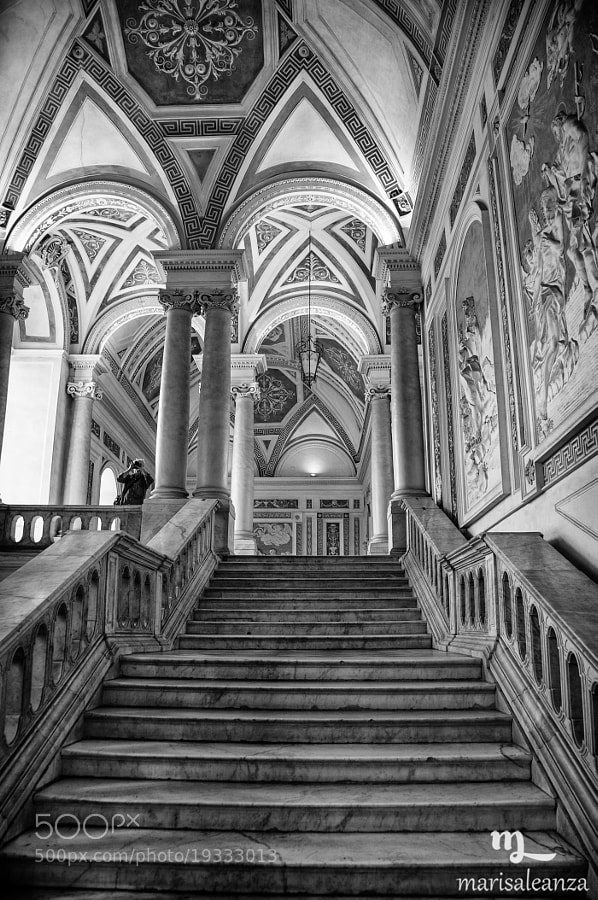 Photograph Ex Monastero dei Benedettini. Interno. by marisa leanza on 500px