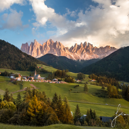 Paradise in Dolomites , Canon EOS 60D, Canon EF-S 10-22mm f/3.5-4.5 USM