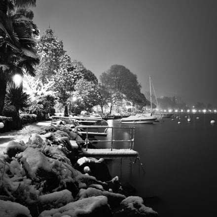 Snow on the water, Sony DSC-RX1RM2, 35mm F2.0