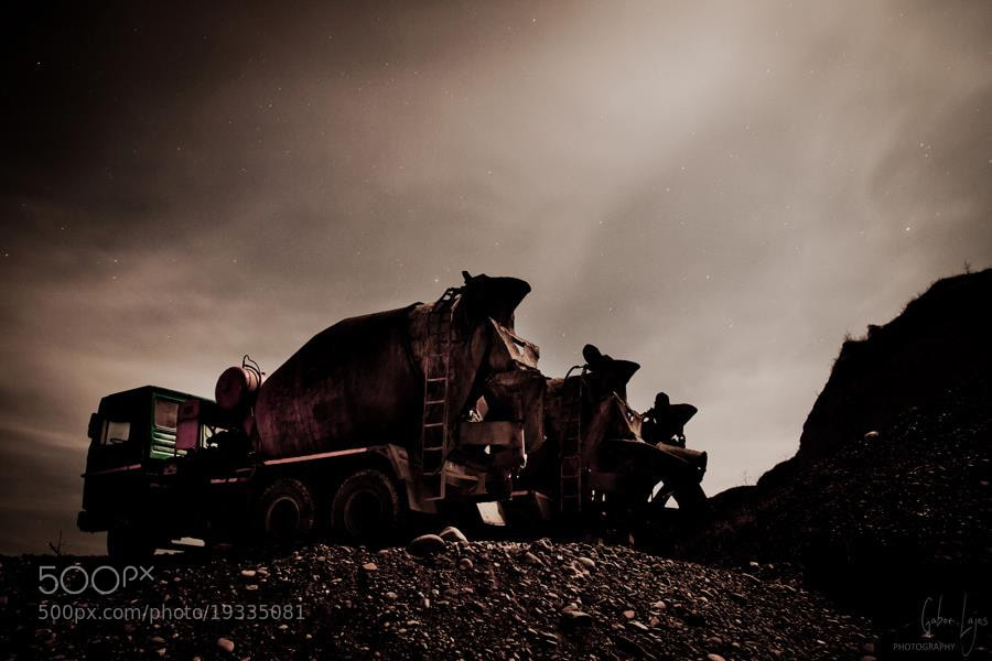 Photograph The mine #1 by Gábor Lajos on 500px