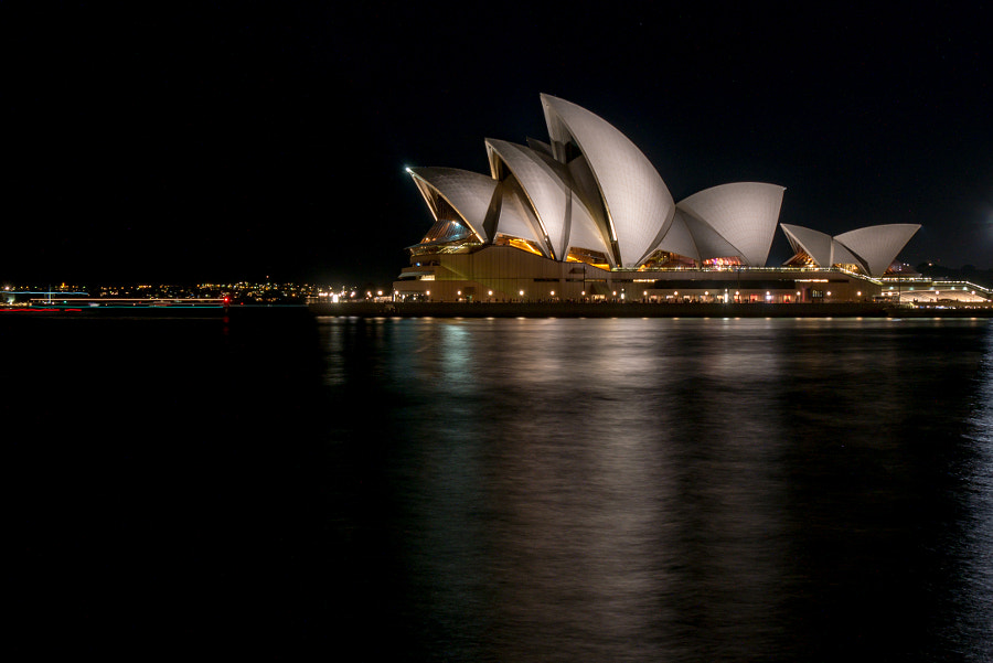 Opera House at Night by Neil Wilcoxson on 500px.com