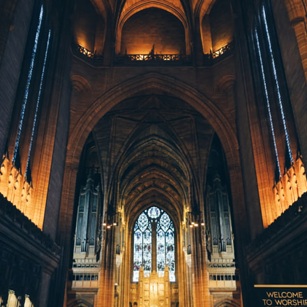 Liverpool cathedral, Canon POWERSHOT G9 X