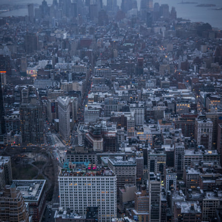 View from Empire State, Panasonic DMC-GH2, Lumix G Vario 14-42mm F3.5-5.6 Asph. Mega OIS