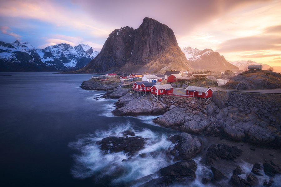 A Stormy Morning In Hamnoy by Daniel F.