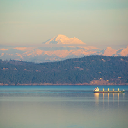 Incredible Mt. Baker, Nikon D90, AF-S DX VR Zoom-Nikkor 18-200mm f/3.5-5.6G IF-ED