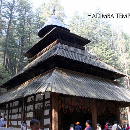 Hadimba Temple, Manali, Canon EOS 1100D, Canon EF-S 18-55mm f/3.5-5.6 IS II
