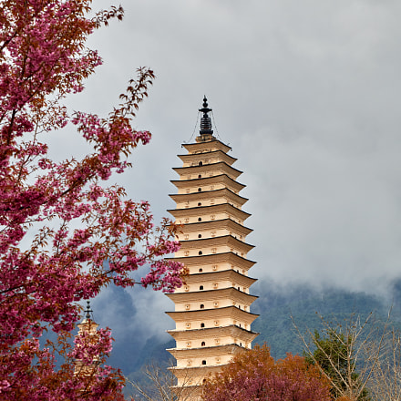 A Traditional Tower with, Canon EOS 5D MARK IV, Canon EF 24-105mm f/4L IS USM