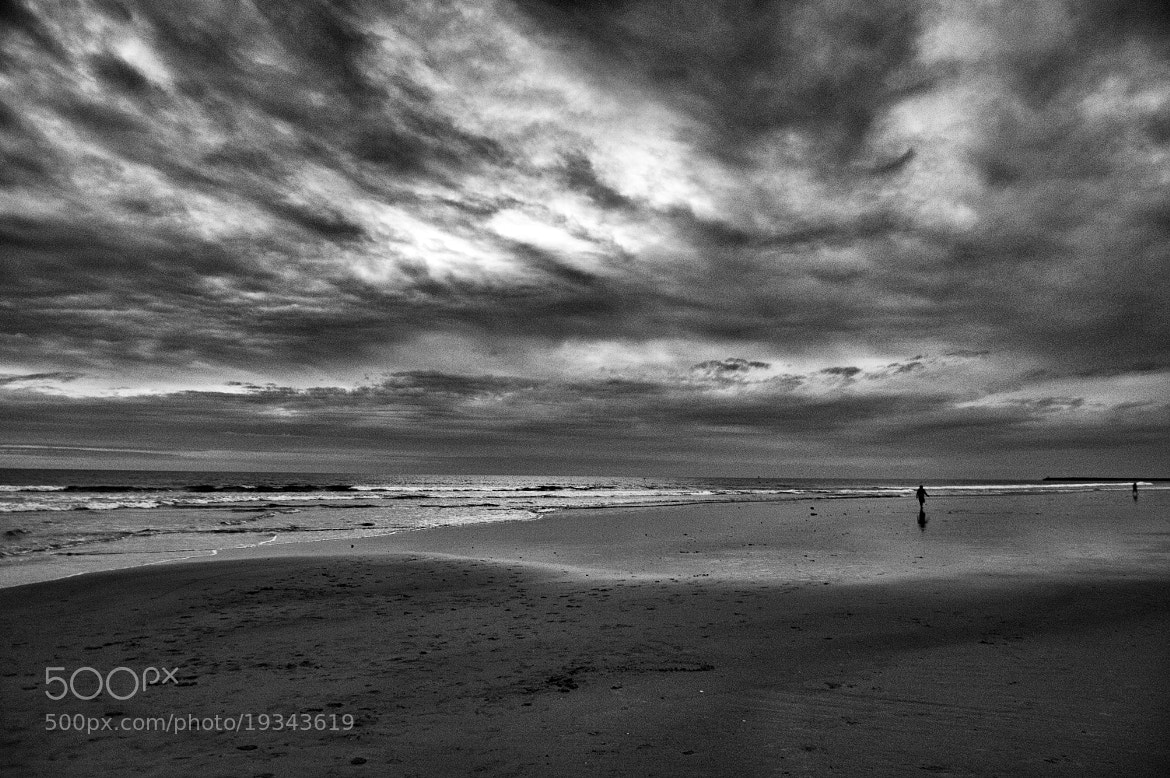 Photograph Oceanside at Low Tide - Black and White- November 28, 2012 by Rich Cruse on 500px
