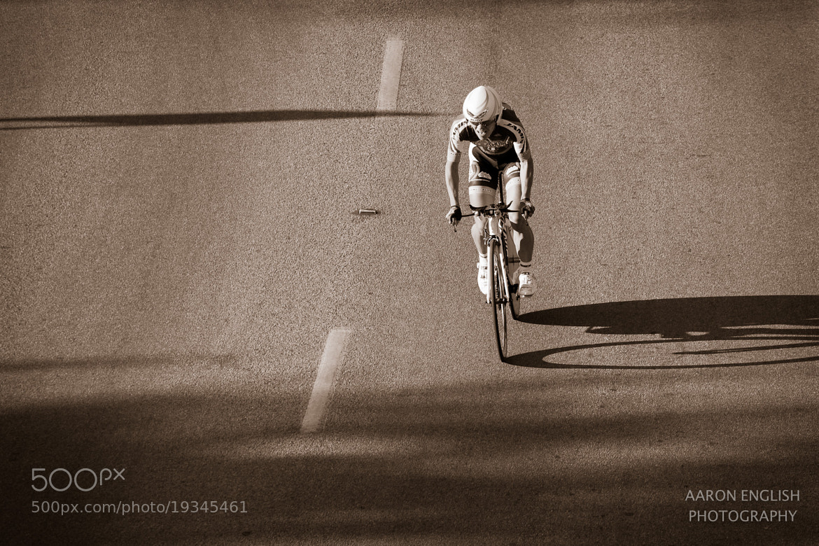 Photograph Lone Biker by Aaron English on 500px
