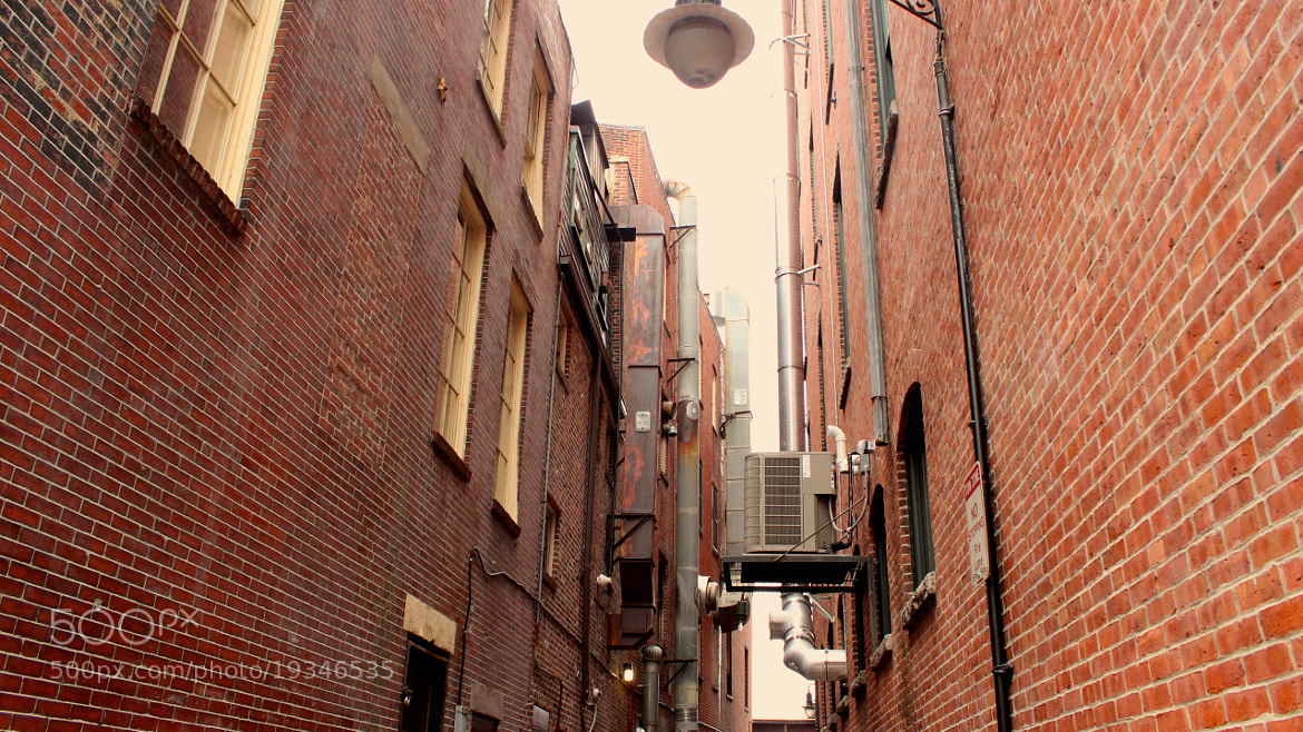 Photograph Boston back alley by Christopher Collins on 500px