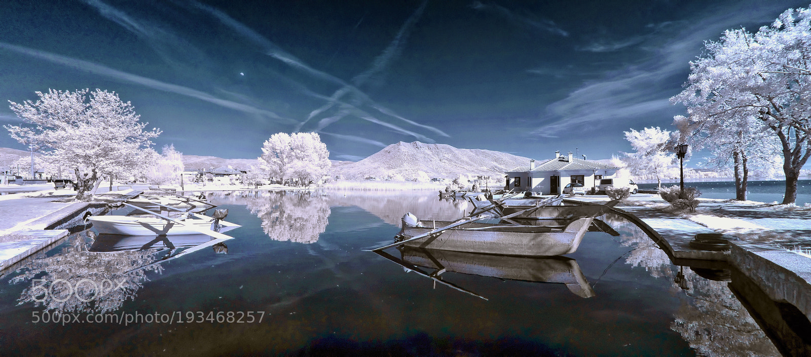 """Panasonic DMC-FH27 sample photo. """"Infrared stitched panorama of"""" photography"""