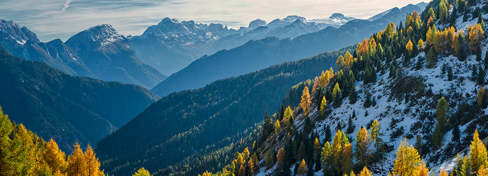 Photograph Alps Fall by Olga Land on 500px