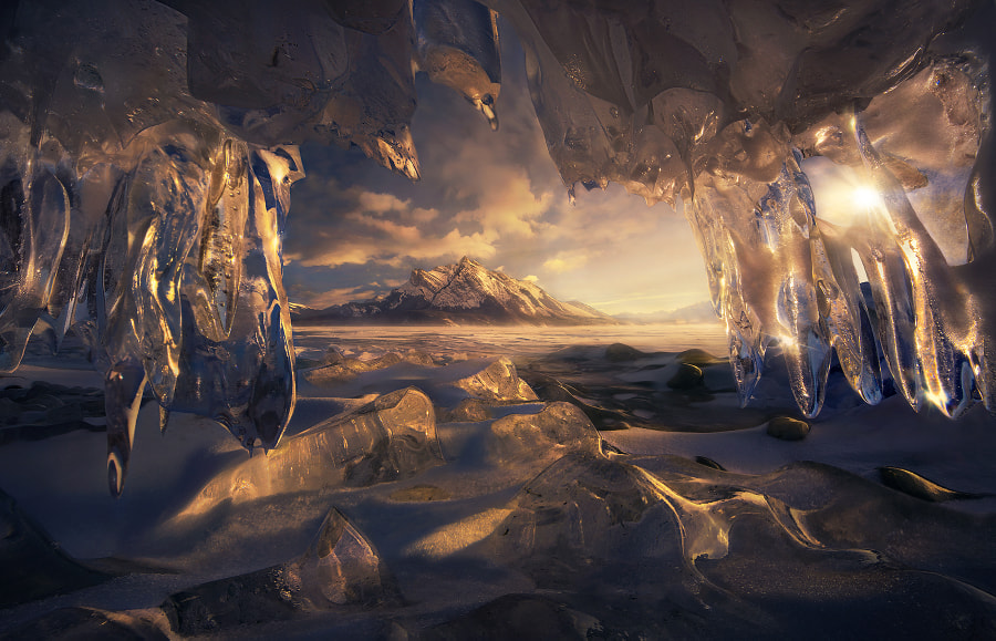 The Crystal Window by Marc Adamus on 500px.com