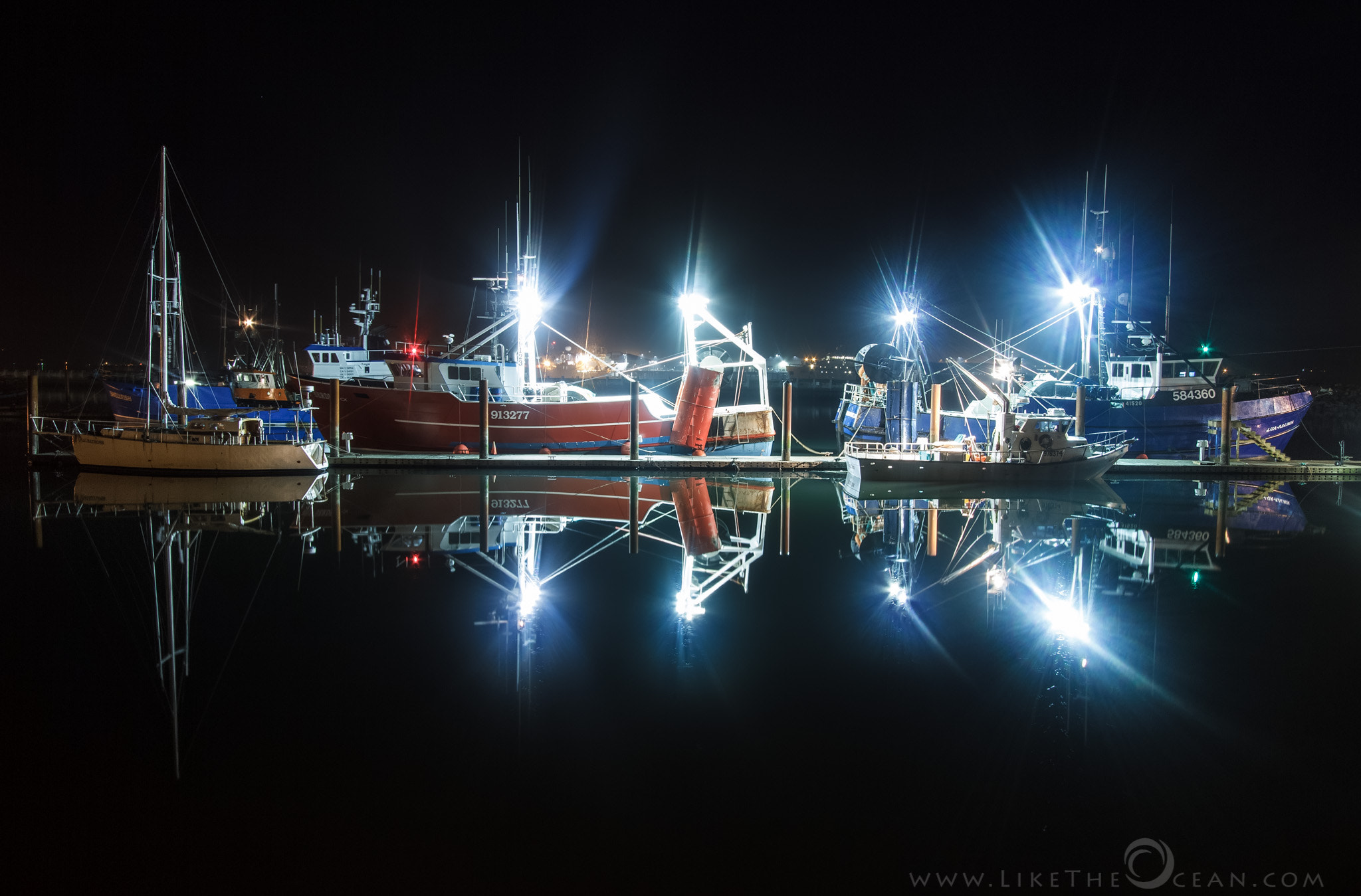 Photograph Reflections at the Dock by Sathya R on 500px