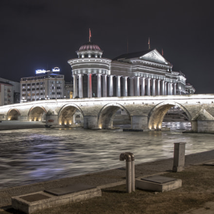 Stone Bridge - Skopje, Canon EOS 70D, Canon EF-S 17-55mm f/2.8 IS USM