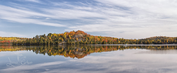 Photograph Caribou Lake Reflected by Linnae Carlson on 500px
