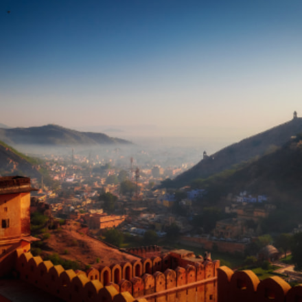 The Amer Fort, Canon EOS 5D MARK II, Canon EF 20-35mm f/2.8L
