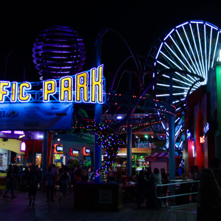 Pacific Park, Santa Monica, Canon EOS 700D, Canon EF-S 17-55mm f/2.8 IS USM