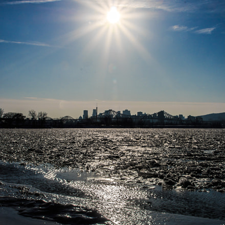 Sun heating the city, Canon EOS 70D, Canon EF 75-300mm f/4-5.6 IS USM