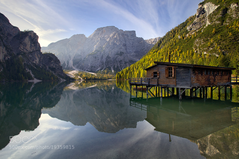 Photograph Lago di Braies by Martin Rak on 500px