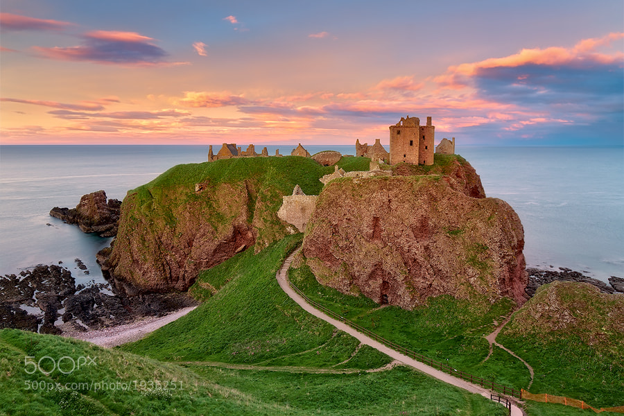 Photograph Dunnottar Castle by Michael  Breitung on 500px