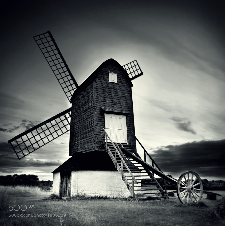 Photograph Pitsone Windmill by Ian Robertson on 500px