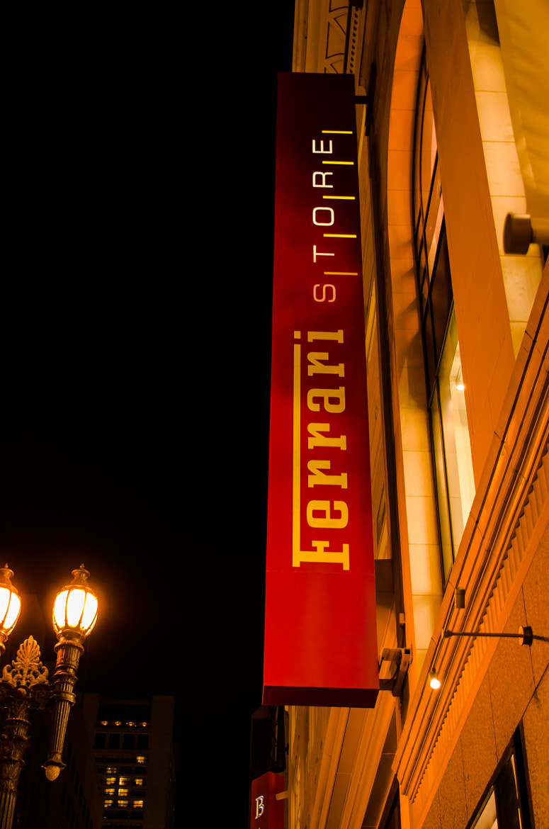 Photograph Ferrari Store by Christopher Tamayo on 500px