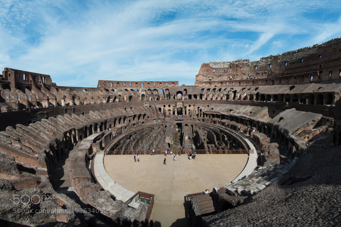 Photograph Colosseum by Thomas J Hunt on 500px