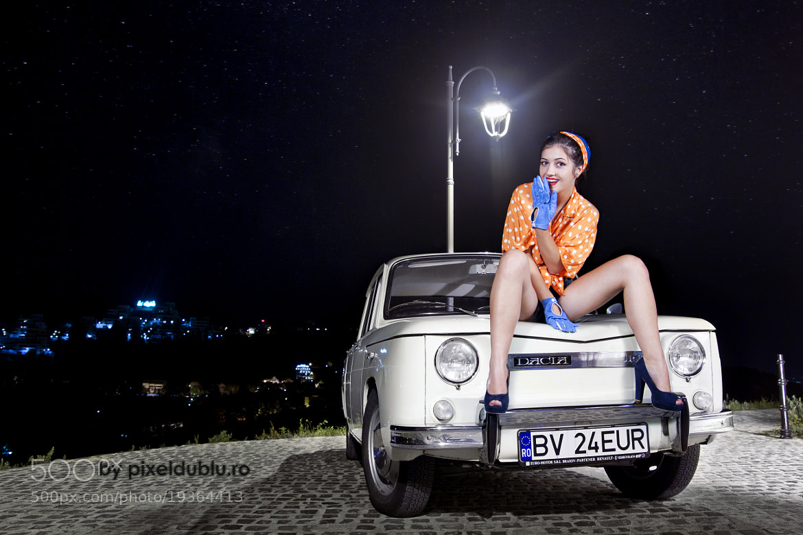 Photograph Dacia 1100 & Girl by Albert Szekely on 500px